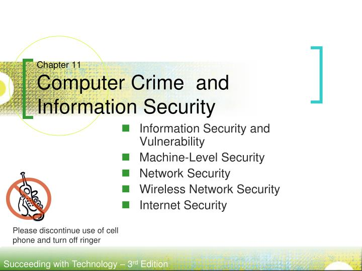 chapter 11 computer crime and information security n.
