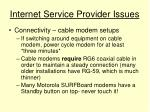 internet service provider issues15