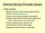 internet service provider issues17