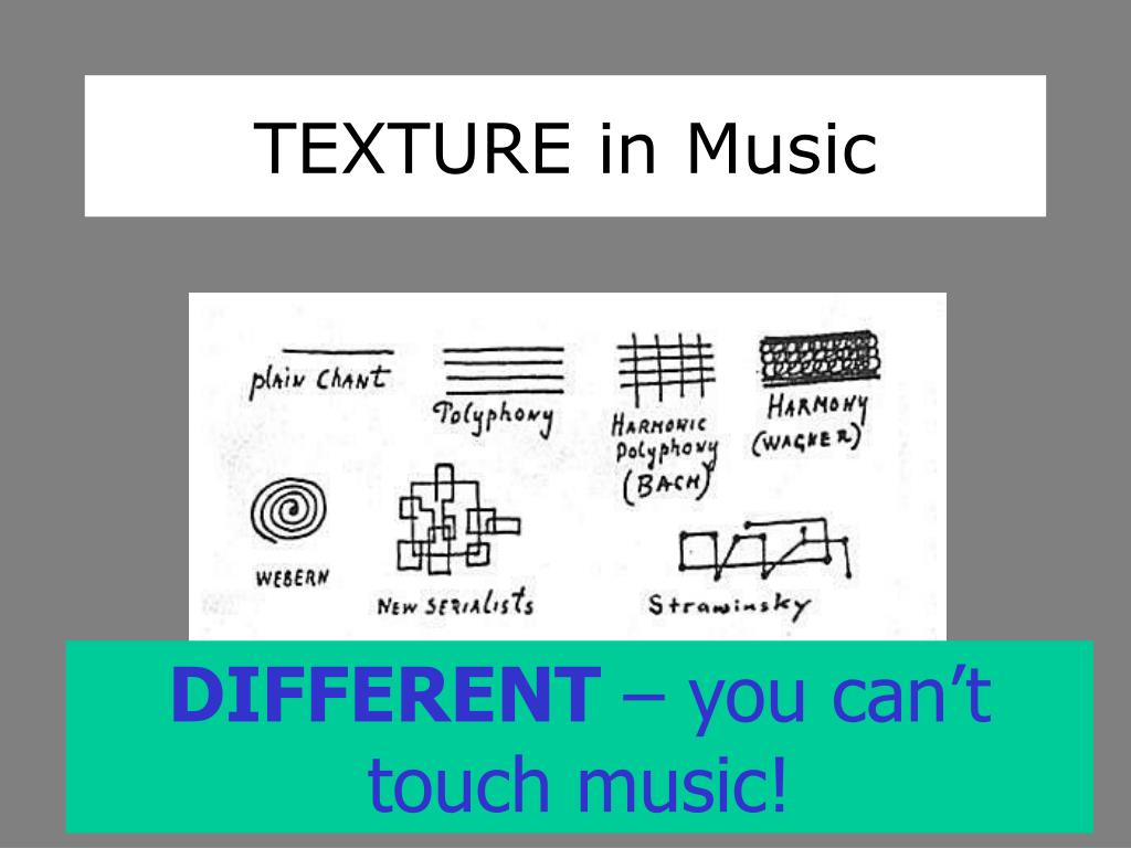 TEXTURE in Music