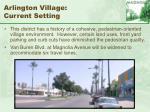 arlington village current setting52