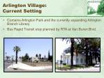 arlington village current setting53
