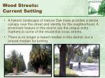 wood streets current setting80
