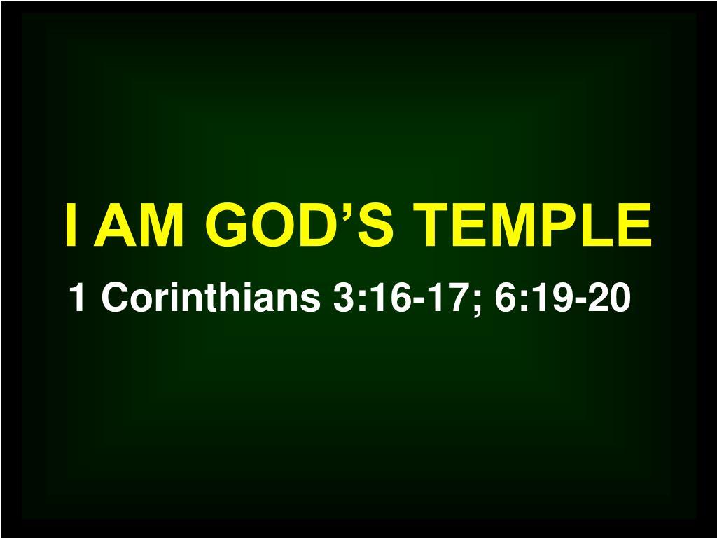 i am god s temple l.