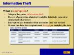 information theft
