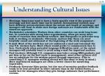 understanding cultural issues34
