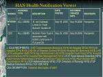 han health notification viewer