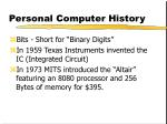 personal computer history