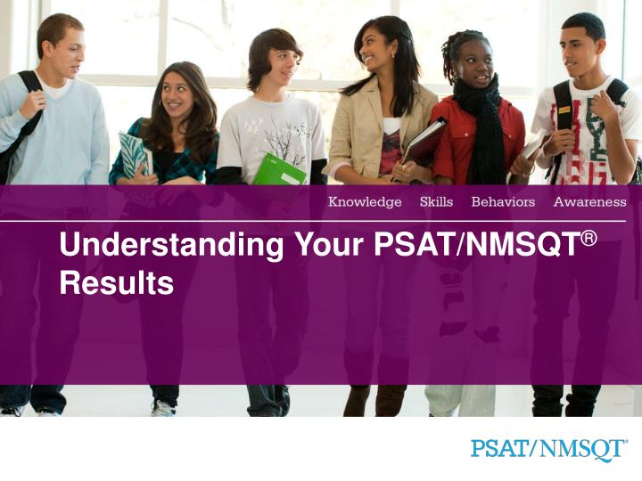 Understanding your psat nmsqt results