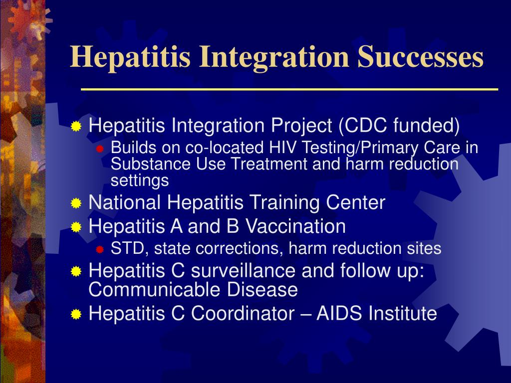 Hepatitis Integration Successes