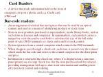 card readers