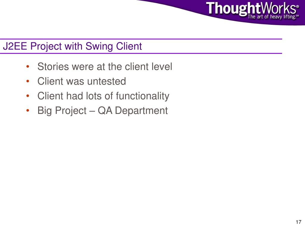 J2EE Project with Swing Client