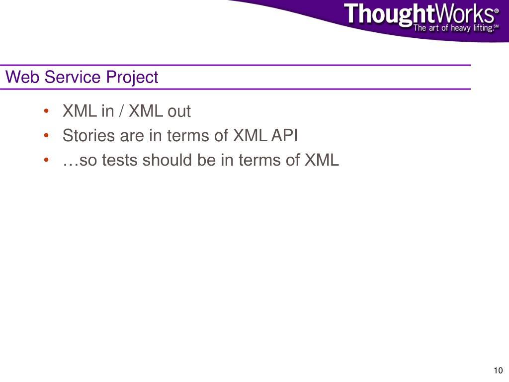 Web Service Project