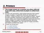 2 printers