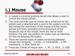 i mouse
