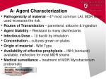 a agent characterization75