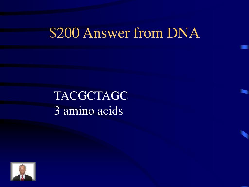 $200 Answer from DNA
