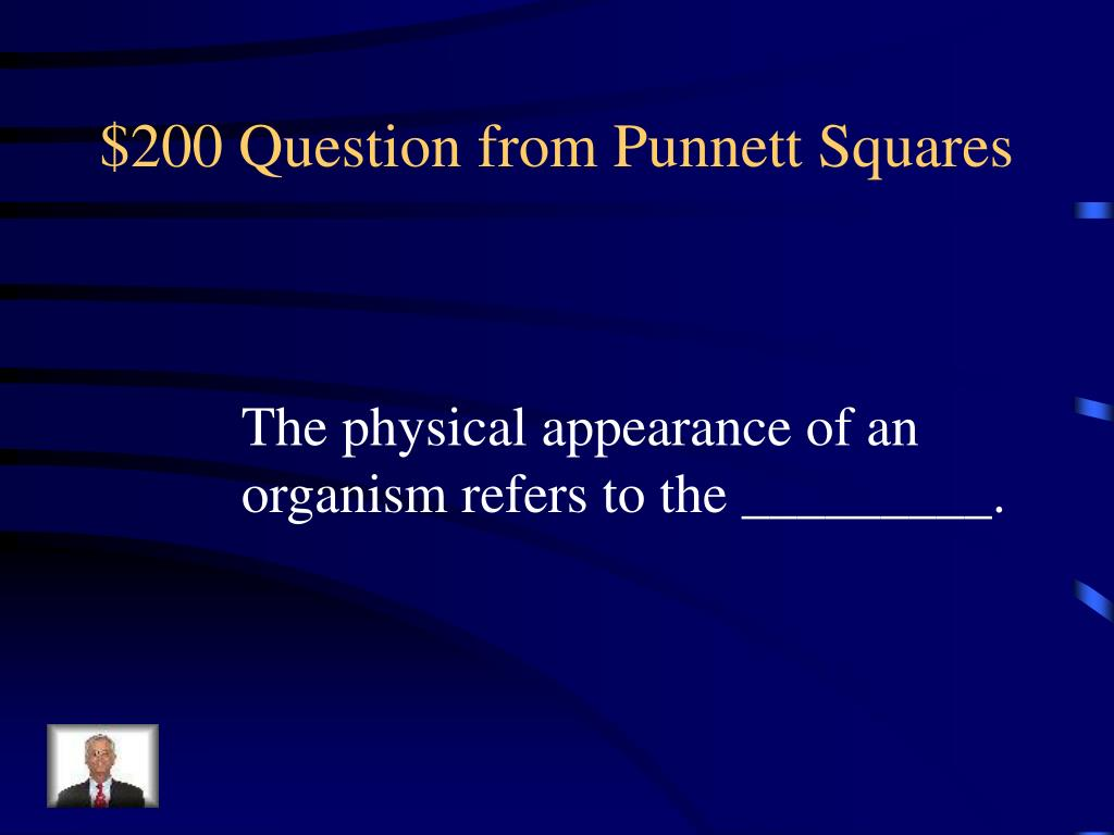 $200 Question from Punnett Squares