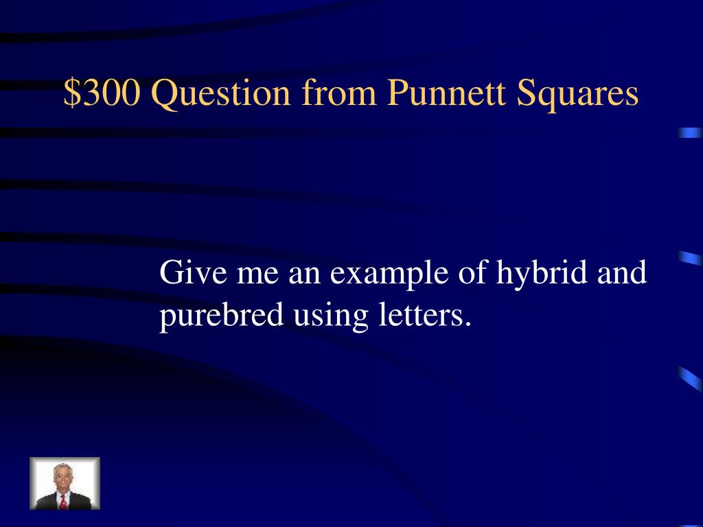 $300 Question from Punnett Squares
