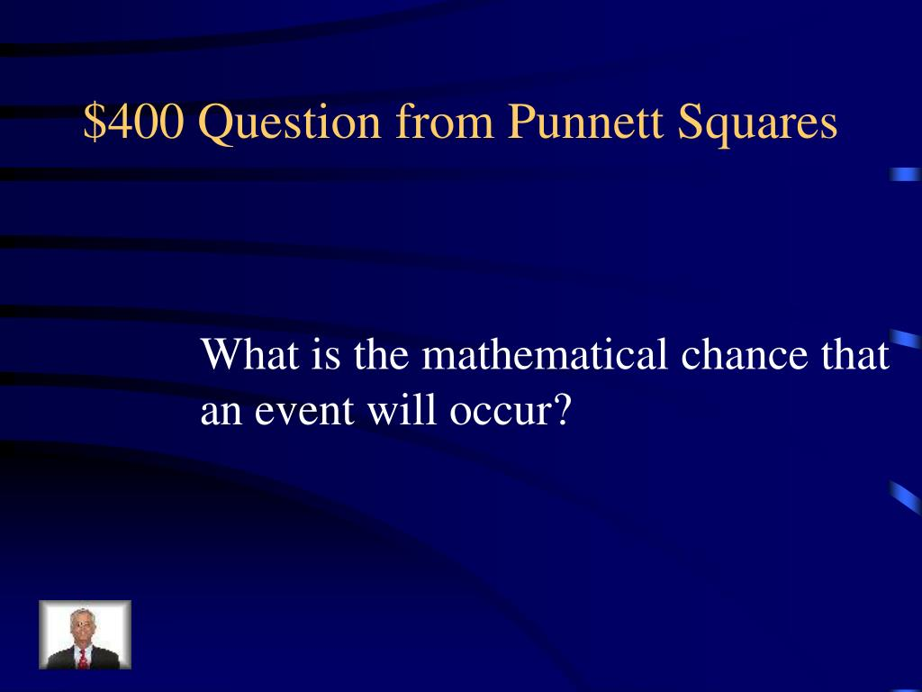 $400 Question from Punnett Squares