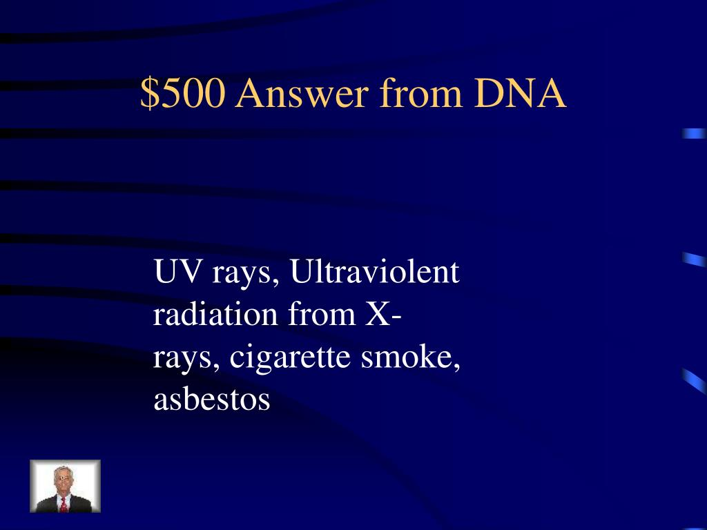 $500 Answer from DNA