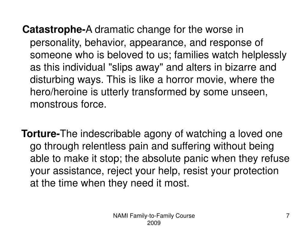 Catastrophe-