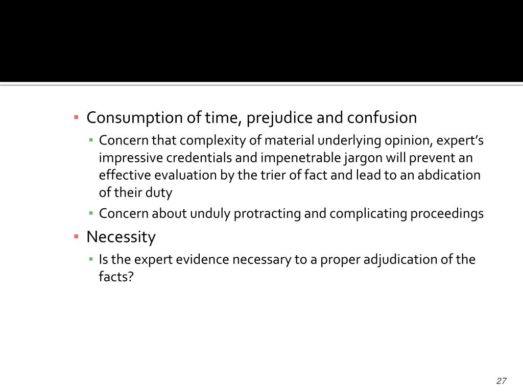 Consumption of time, prejudice and confusion
