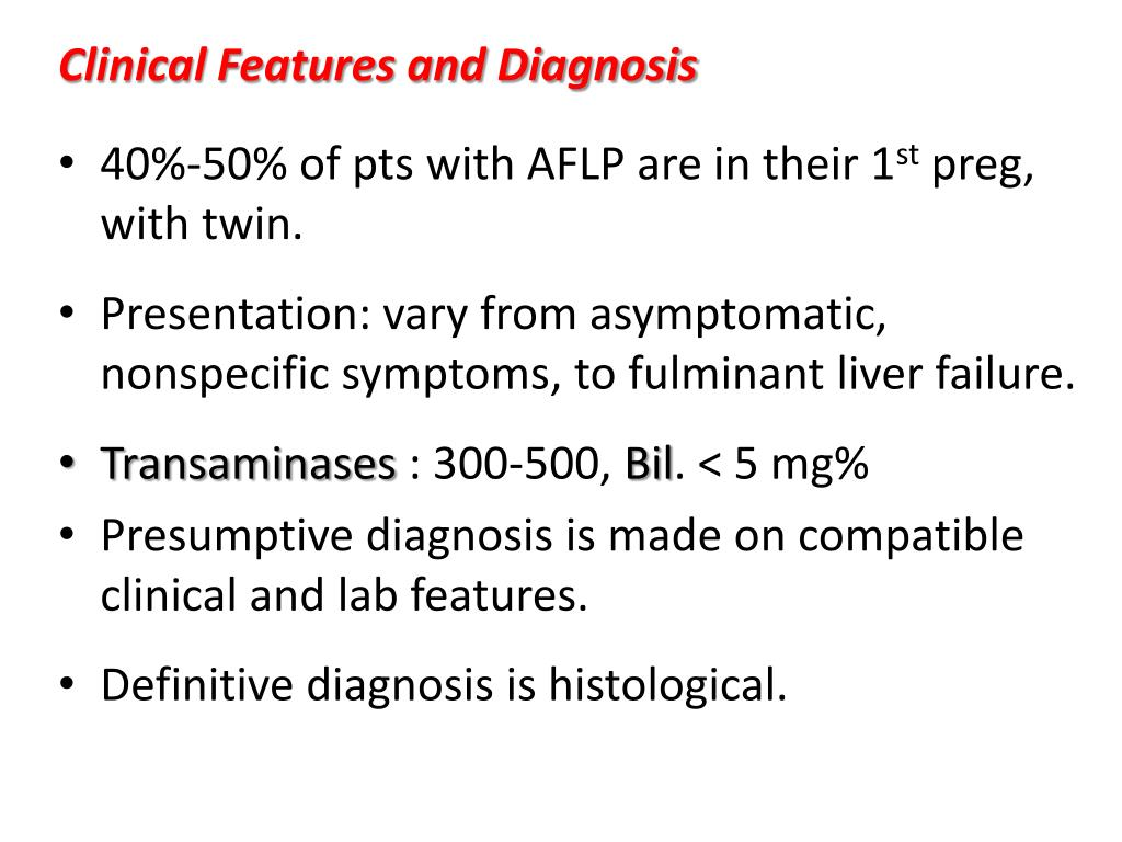 Clinical Features and Diagnosis