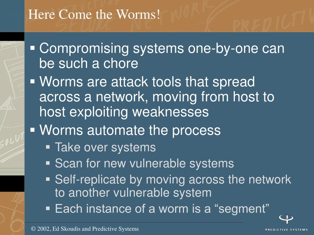 Here Come the Worms!