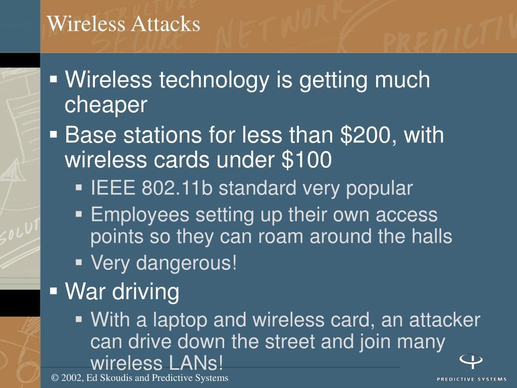 Wireless Attacks