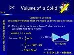 volume of a solid2