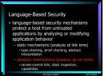 language based security3