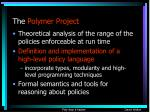 the polymer project11