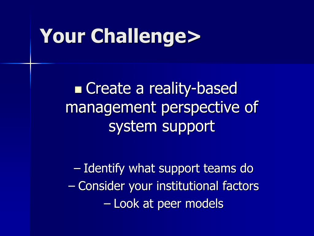 Your Challenge>