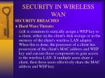 security in wireless wan11