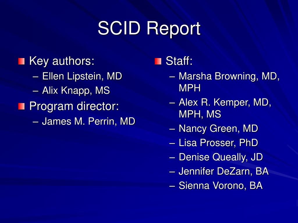 Key authors: