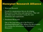 honeynet research alliance
