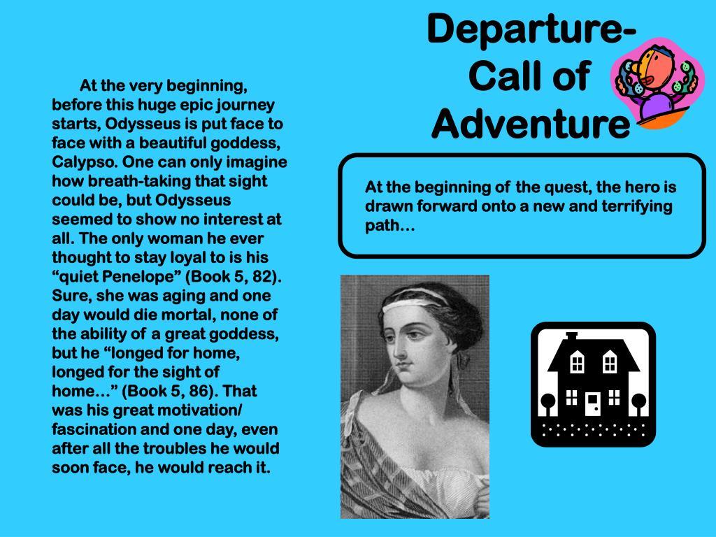 Departure-Call of Adventure
