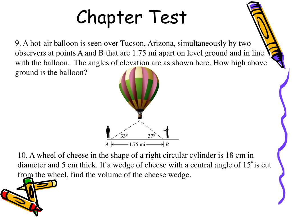 Chapter Test