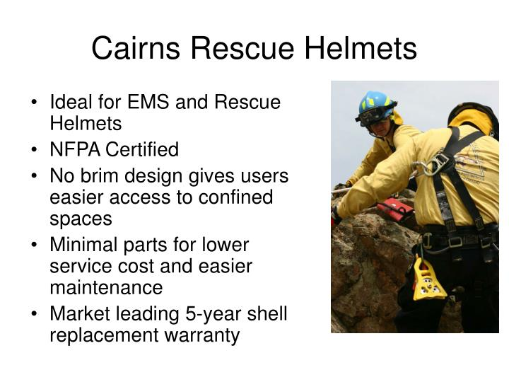 Cairns rescue helmets2