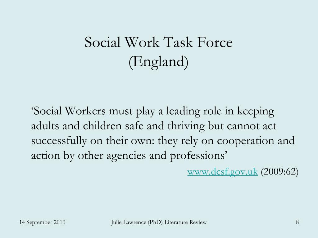 Social Work Task Force