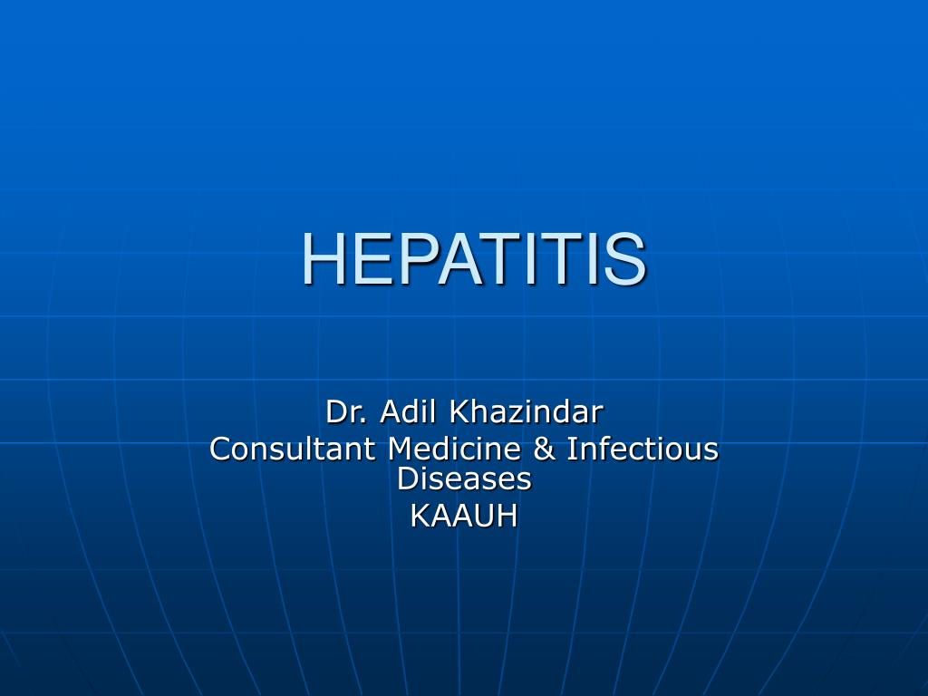 hepatitis l.