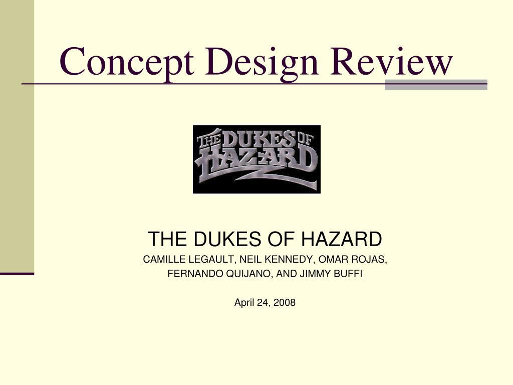 concept design review l.
