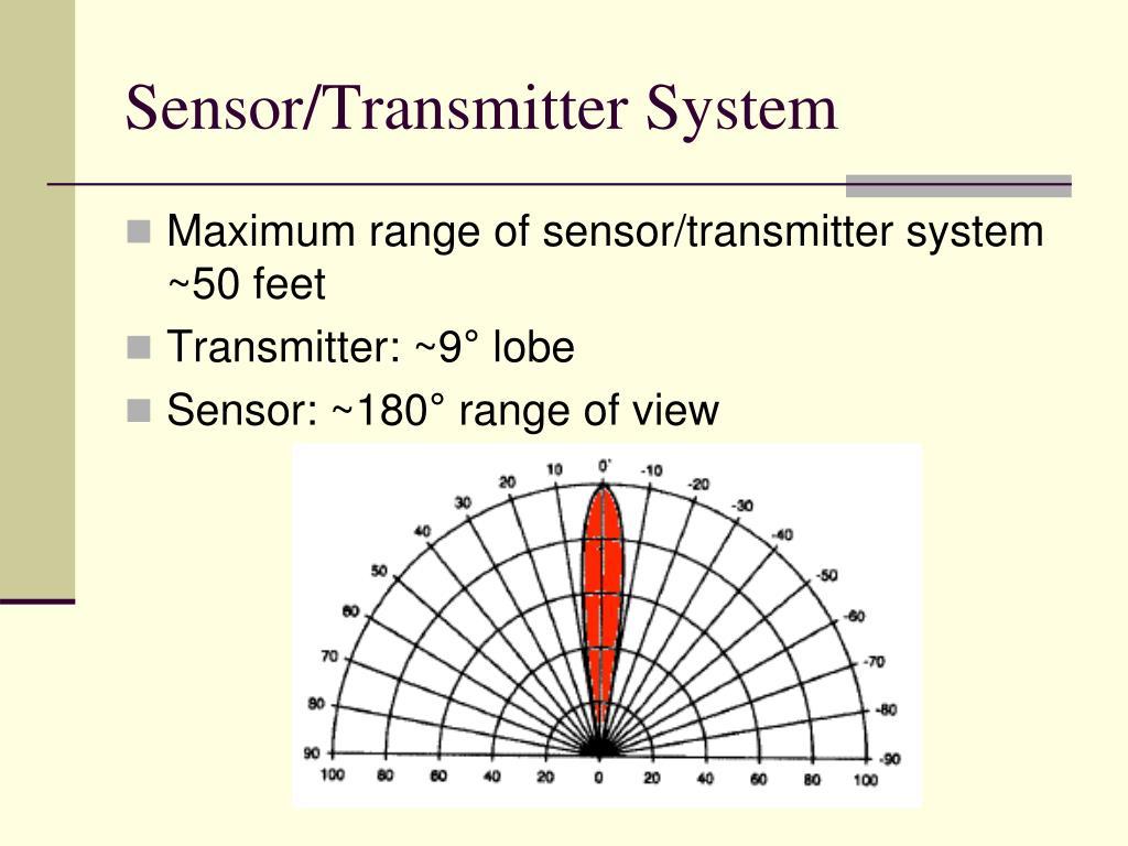 Sensor/Transmitter System