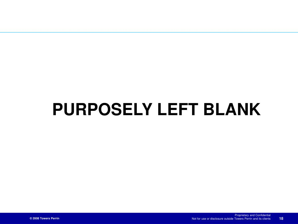 PURPOSELY LEFT BLANK