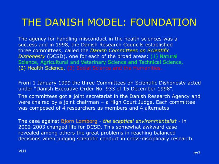 The danish model foundation