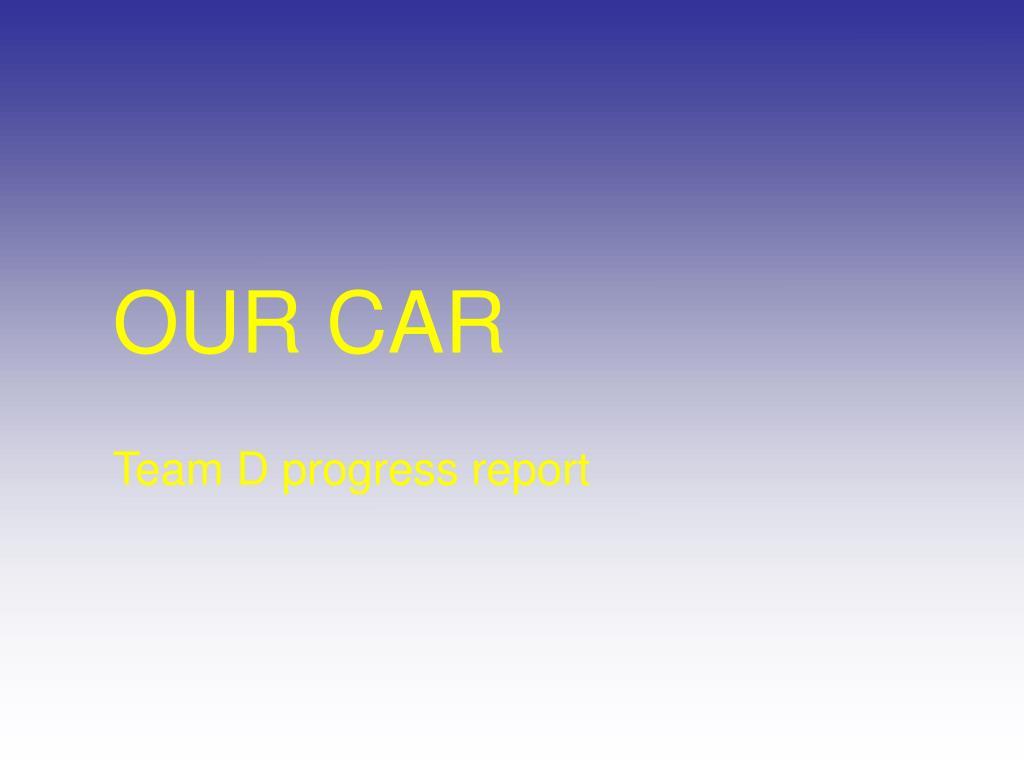 our car l.
