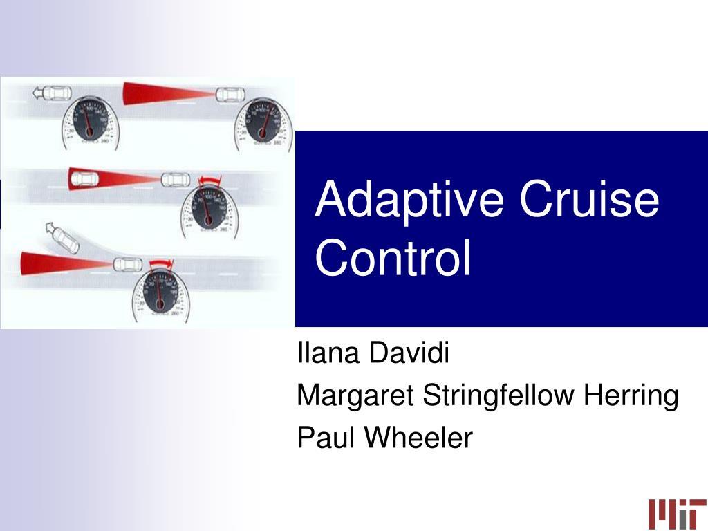 adaptive cruise control l.