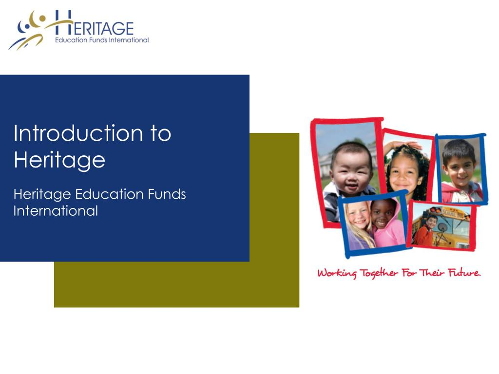introduction to heritage l.