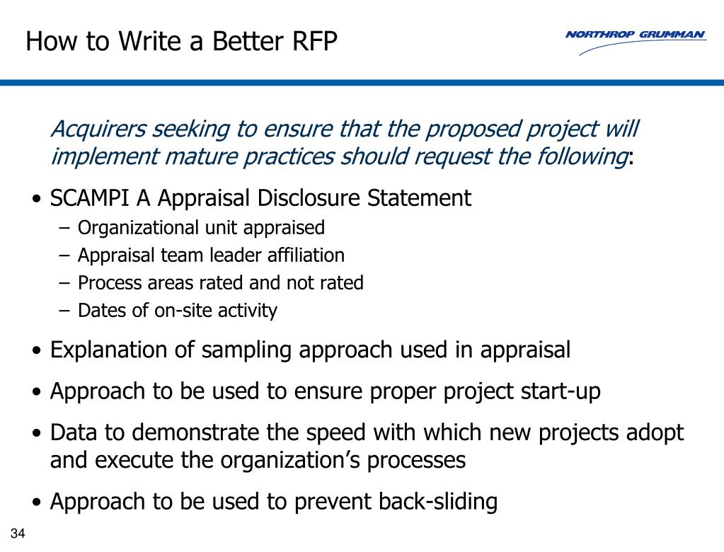 How to Write a Better RFP